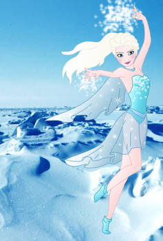 Disney Superheroes: Elsa