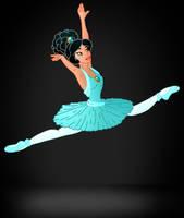 Disney Ballerina: Jasmine by Willemijn1991