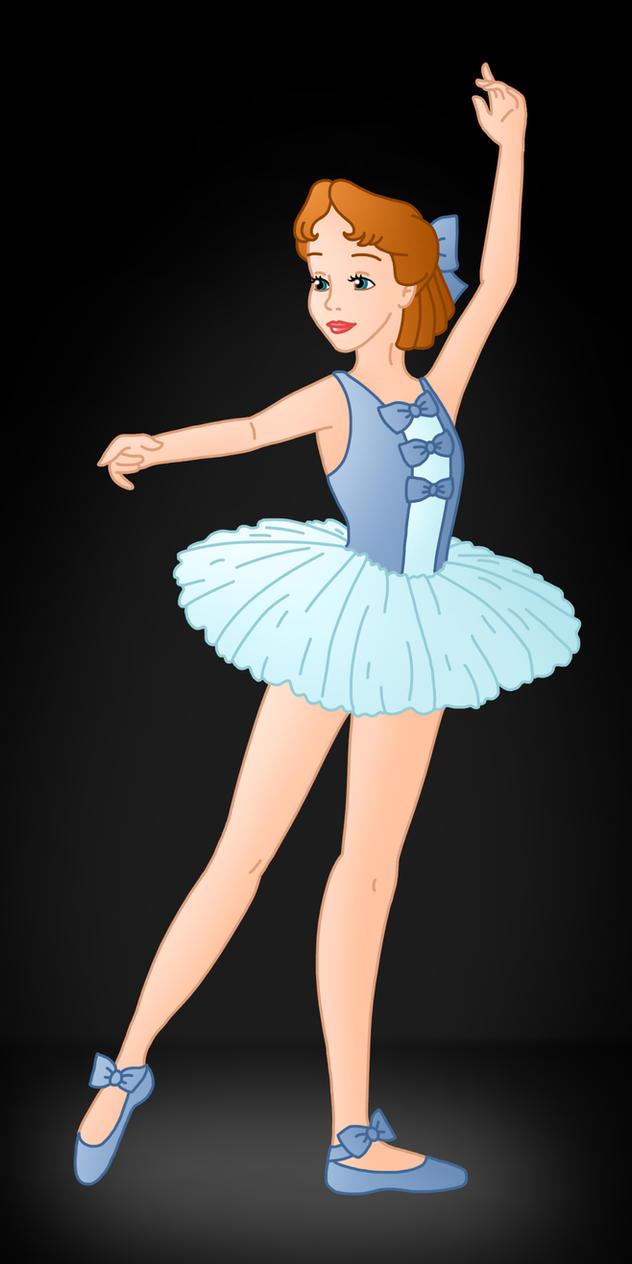 Disney Ballerina: Wendy by Willemijn1991 on DeviantArt
