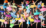 All the disney Ballerina's
