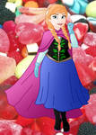 Plus size Princess: Anna