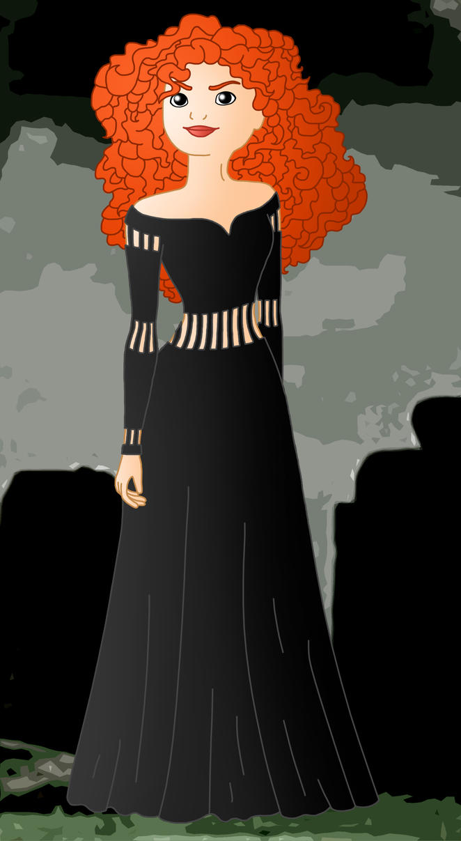 Evil Princess Merida by Willemijn1991