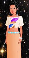 Modern princess: Pocahontas