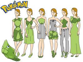 Pokemon fashion: Metapod by Willemijn1991