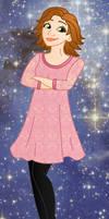 Modern princess: Rapunzel