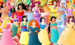 All plus size princesses