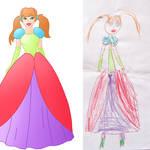 child's drawing gone Disney 44
