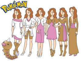 Pokemon fashion: Weedle by Willemijn1991