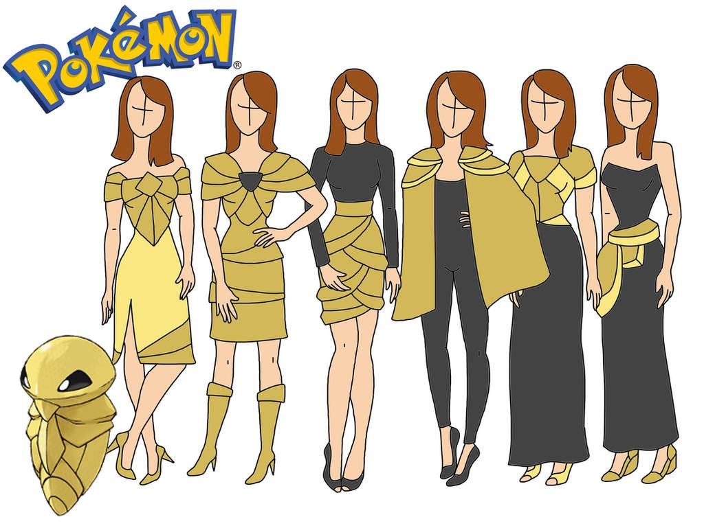 Pokemon fashion: Kakuna by Willemijn1991