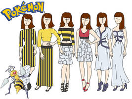 Pokemon fashion: Beedrill by Willemijn1991