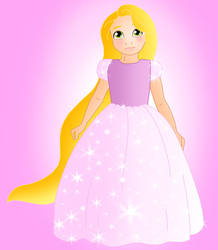 Little princess: Rapunzel