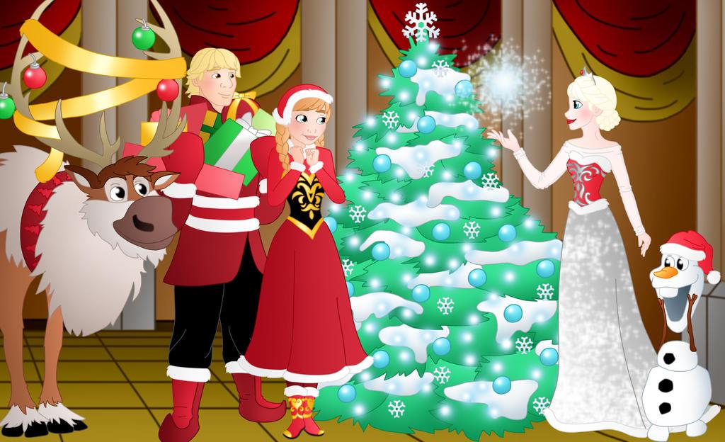 A Frozen Christmas By Willemijn1991 On DeviantArt