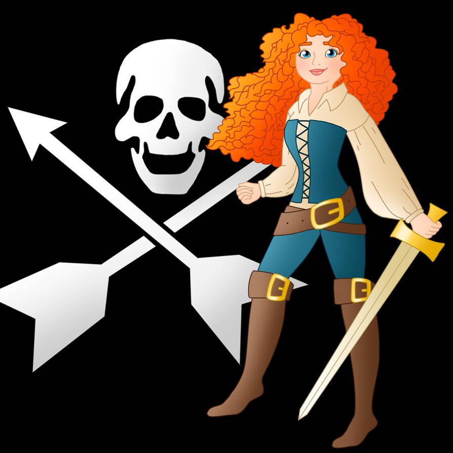 Disney Pirate: Merida