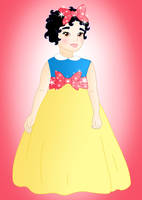Little princess: Snow White by Willemijn1991