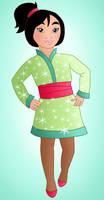 Little princess: Mulan