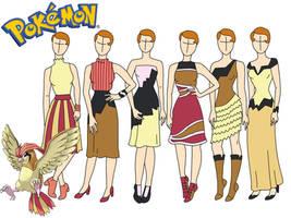 Pokemon fashion: Pigeotto by Willemijn1991