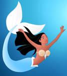 Disney Mermaids: Pocahontas