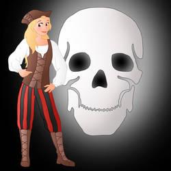 Disney Pirate:  Eilonwy by Willemijn1991