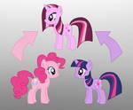 Pony Fushion: Pinkie Pie And Twilight