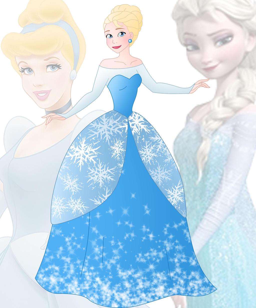 Modern snow white dress