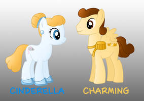 My little disney: Cinderella and Charming by Willemijn1991