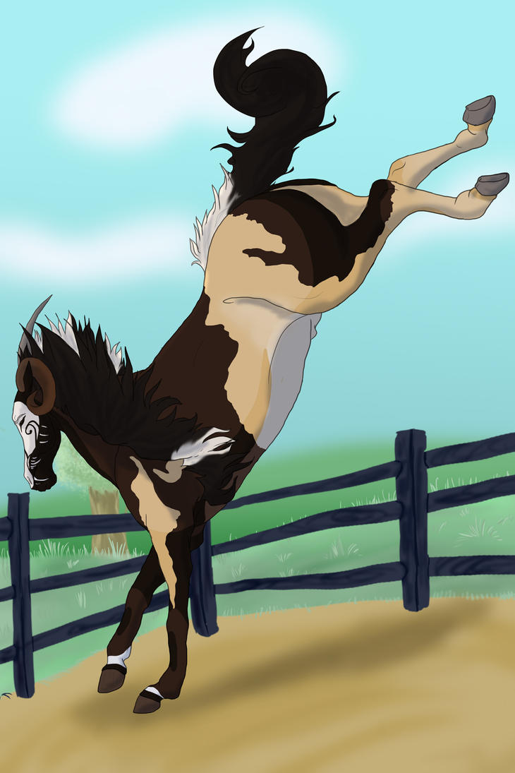 Bucking by TheMoon122