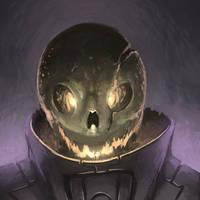 Spooky Skeleton Monster by spatss