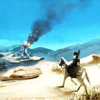 MGS5: Sahelanthropus Standoff by spatss
