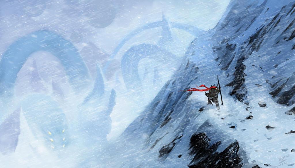 Immortal Mountains by Kuroart