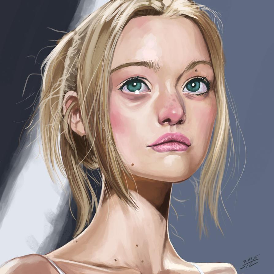 Gemma Ward by Kuroart