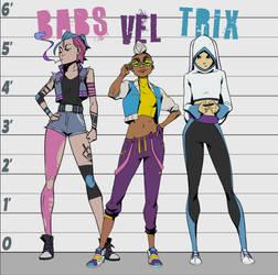 Riot Girls Lineup