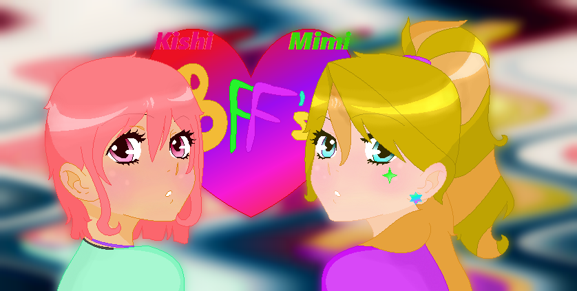 My oc's Kishi and Mimi by KishiMcKawaii