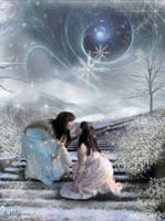 Winter's Kiss by hurricanekerrie