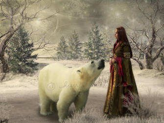 The Polar Bear King by hurricanekerrie