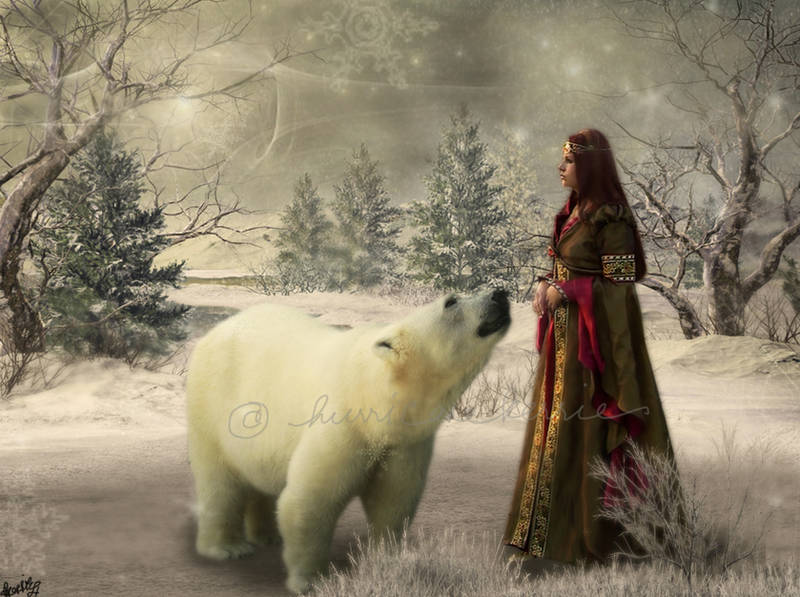 The Polar Bear King by hurricanekerrie