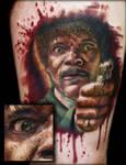 Pulp Fiction Tattoo Samuel L. Jackson