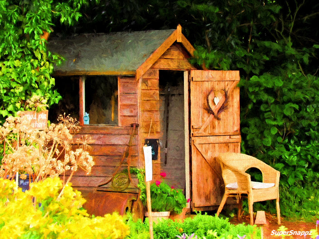 Garden Shed. by supersnappz16