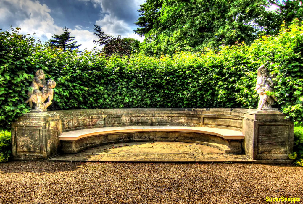Stone Bench by supersnappz16