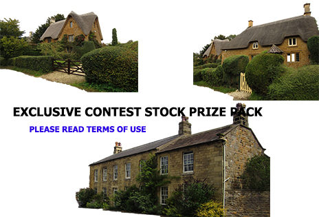 Exclusive Stock Pack - Cottages by supersnappz16