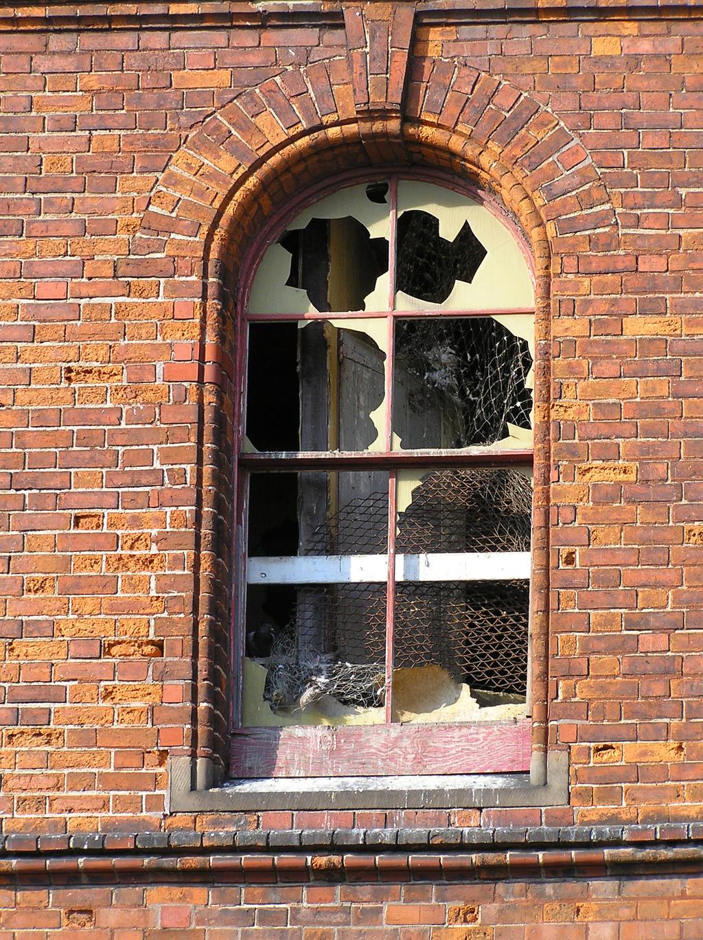 Broken Window Stock 1 by supersnappz16