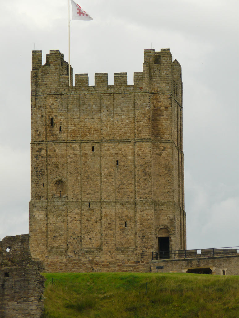 Castle Tower 1 - Stock by supersnappz16
