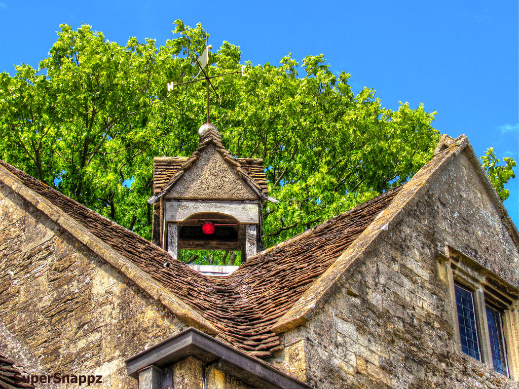 Trees and Rooftops - Stock Image by supersnappz16