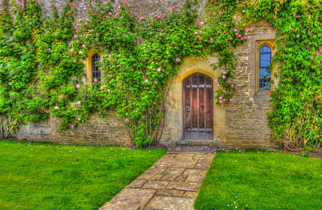 Two Windows And A Door - HDR Stock Image - by supersnappz16