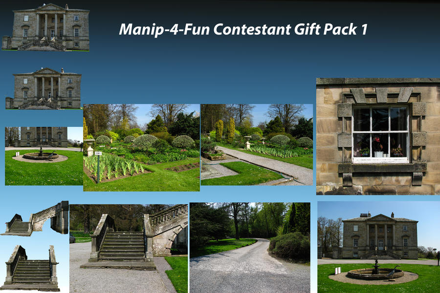 Contestant Gift Pack 1 by supersnappz16