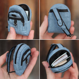 1/6 scale Backpack for a doll