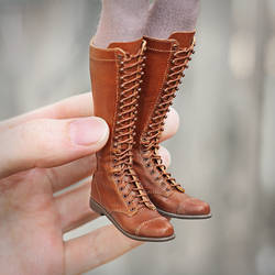 1/6 scale Doll Boots by striped-box
