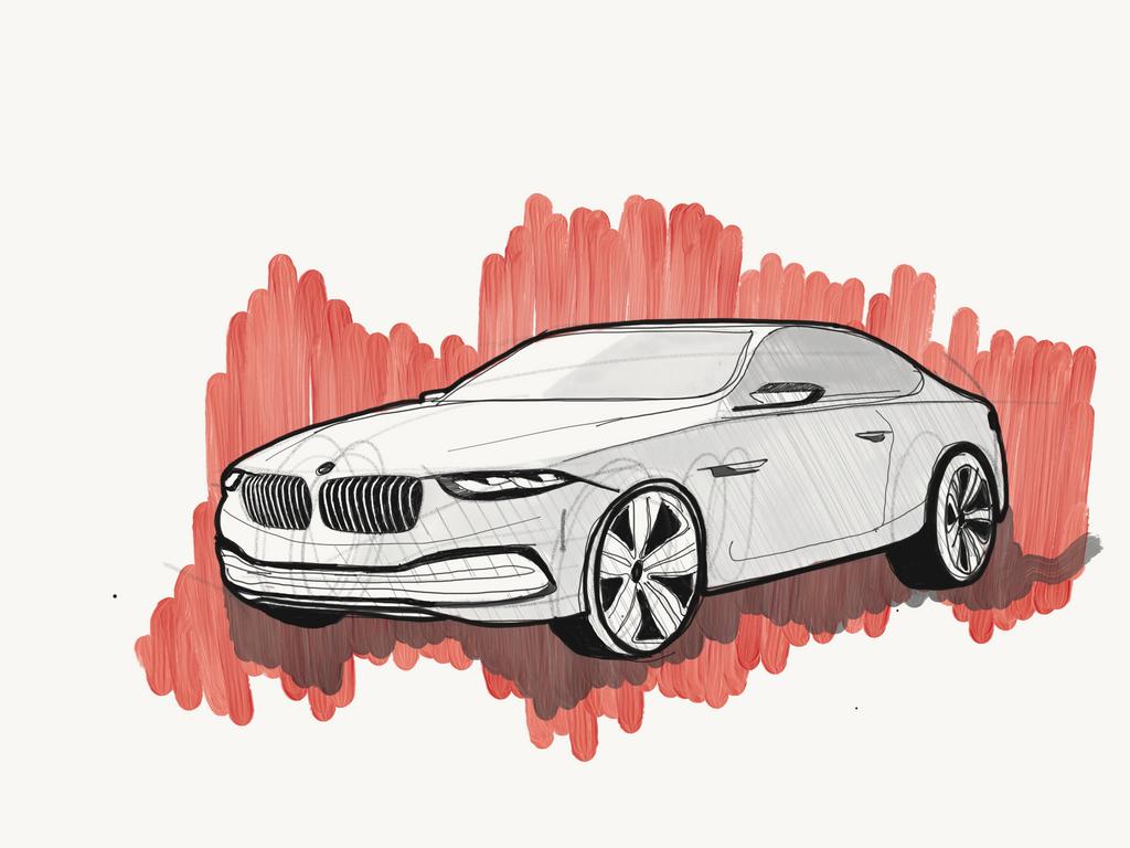 BMW Car by MohammedSiyamand