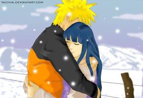 Hug me... It is cold--Naruhina by Taichia