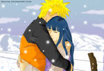 Hug me... It is cold--Naruhina