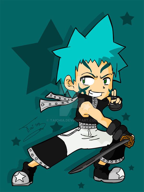 black star soul eater chibi - photo #10